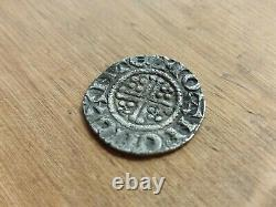 1216 -1247 Henry III Short Cross Hammered Silver Penny IOAN ON CANTE R07AG