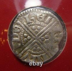1247 1272 King Henry III Great Britain Silver Long Cross Penny