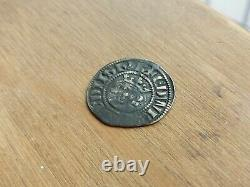 1272 1307 Edward I Hammered Silver Penny Bristol Mint 1.43 Grams R06AD