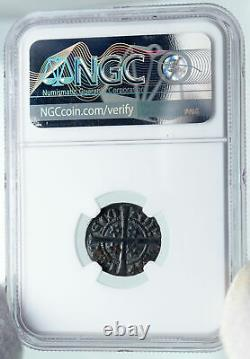 1280 86 GREAT BRITAIN Scotland UK King ALEXANDER III Old Penny Coin NGC i87147