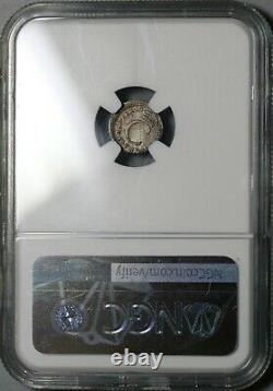 1679 NGC MS 64 Charles II Penny Great Britain Silver Coin POP 1/0 (20101103C)