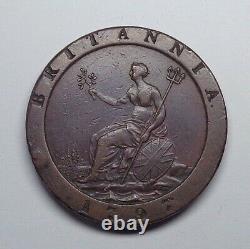 1797 Great Britain Cartwheel Penny, KM-618