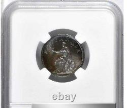 1806 Great Britain Farthing, NGC MS 66, Superb 1/4 Penny