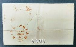 1840 1d Penny Black on Cover Dated 13th May 1840