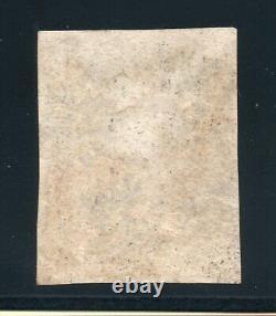 1840 penny black Sg 2 plate 1b (T H) 4 margins & red Maltese cross pmk