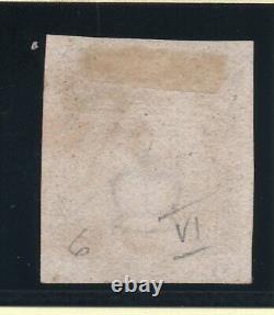 1840 penny black Sg 2 plate 6 (T L) 1d black bright red M X & 4 large margins