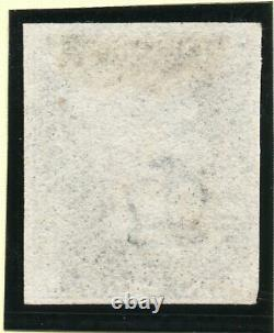 1840 penny black Sg 2 plate 9 (G I) 1d black very Large margin example