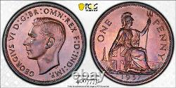 1937 PR66 RB Great Britain Proof Penny PCGS KM 845 26K Minted! S-4114 1D