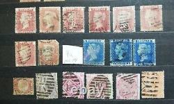 Briefmarken Großbritannien/Great Britain ink. (Penny Black excellent condition)