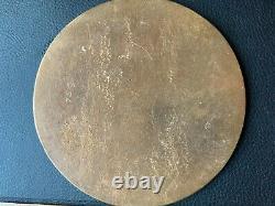 British WW1 Memorial Plaque Death Plaque Death Penny SEED 64th Bde RFA