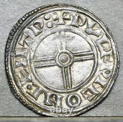 Cnut Silver Short Cross Penny, Wulfric, Canterbury N. 790, S. 1159. Ex M Rasmussen
