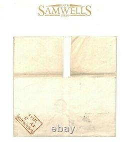 GB MALTESE CROSS Additional Manuscript Cancel Fearn Penny Post 1841 X108