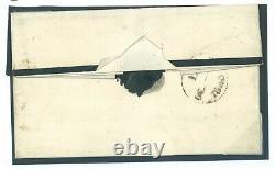 GB PENNY BLACK MARGINAL Plate 4 (LA) Characteristic Dots Cover London 1840 114e