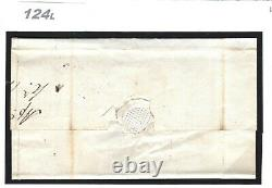 GB PENNY BLACK SG. 1 Cover 1d Plate 2 (MK) Superb Uttoxeter MX 1841 Staffs 124l