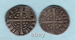 Great Britain. (1272-1307) Edward 1 Silver Pennies x 2. Bristol & Durham Mint