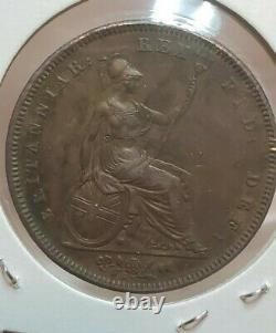Great Britain 1831 One Penny William IV Ex High Grade Rare Wow