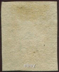Great Britain 1840 1d Penny Black'SH' Plate 7. 4 Margins. Red Maltese Cross