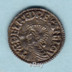 Great Britain. (978-1016) Aethelred 11 Long Cross Penny. Exeter Mint. GVF