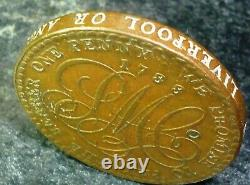 Great Britain North Wales. Anglesey D&H-30 - UK, GB 1788 ONE PENNY TOKEN