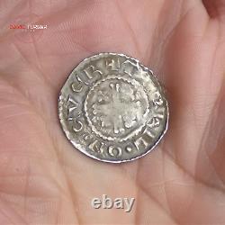 Hammered Henry II Short Cross Silver Penny, York