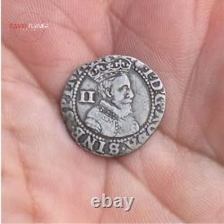 Hammered James I Silver Halfgroat