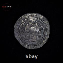 Hammered Tudor Period Henry VIII Sovereign Silver Penny, Thomas Wolsey