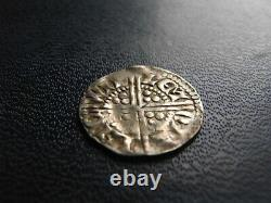 Henry III Silver Voided Long Cross Penny, Class 3b Lincoln 1216-47