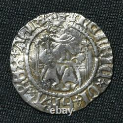 Henry VIII 1509-47, Penny, 1st Coinage, Durham, Bp Ruthall, mm Lis, S2331, N1776