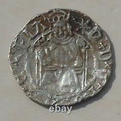 Henry VIII Sovereign Penny, Durham Bishop Tunstall Hammered Tudor Silver S2354