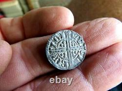 High Grade (XF) Original 1247-1272 Great Britain Long Cross Penny Henry III