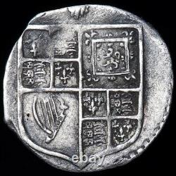James I, 1603-25. Penny, mm. Thistle, 1603-4. 1st Coinage, 2nd Armoured Bust