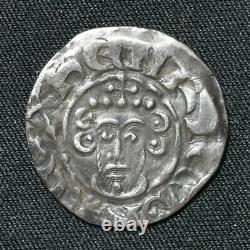 John, 1199-1216, Short Cross Penny, Willelm B/Canterbury, Class 5b3, S1351, N970