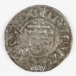 King John Voided Short Cross Silver Penny, Northampton, Roberd T 1199-1216