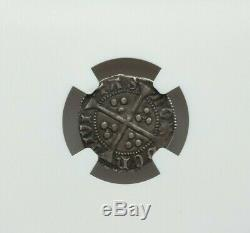 Nd (1422-1430) Great Britain Henry VI Penny Ngc Xf-45