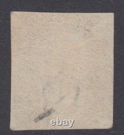 QV GB 1d Penny Black Maltese cross CH Victorian line engraved
