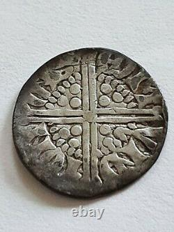 Rare Henry III Longcross Penny 3b Willem ion Bury St Edmunds Hammered Coin