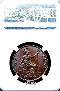 The Single Finest 1919 KN George V Great Britain King's Norton Penny NGC MS65 BN