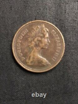Uk Coin 1 Penny 1971 1p New Penny Coin Original Very Old Coin