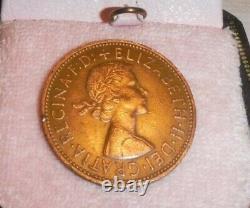 VERY RARE ONE PENNY COIN 1967 ELIZABETH II good condition