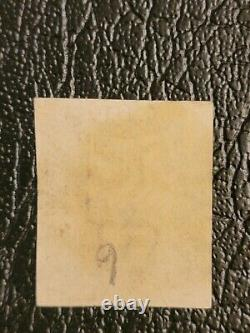 Worlds first stamp 1840 Great Britain Penny Black Stamp N One penny