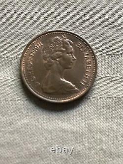 1 New Penny Coin 1971 Grande-bretagne