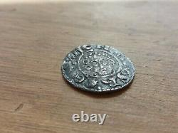 1216 -1247 Henry III Courte Croix Martelée Argent Penny Ioan On Cante R07ag