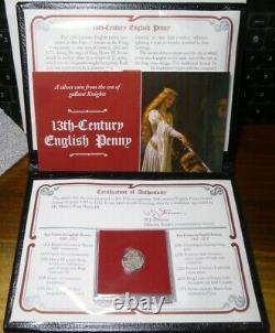 1247 1272 Roi Henry III Grande-bretagne Silver Long Cross Penny