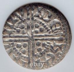 1247ad England Grande-bretagne Royaume-uni Roi Henry III Ancien Argent Penny Coin Ngc I89734