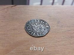1272 1307 Edward I Hammered Argent Penny Bristol Monnaie 1,43 Grams R06ad