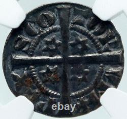 1280-6 Grande-bretagne Ecosse Royaume-uni Roi Alexander III Argent Penny Coin Ngc I87147