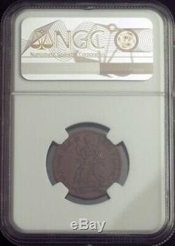 1665, La Grande-bretagne, Charles Ii. Motif Cu 1/4 Penny (farthing) Coin. Ngc Vf35
