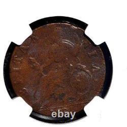 1699 Grande-bretagne 1/2 Penny, Angleterre, Ngc Vf Details Scratch, S-3556