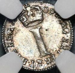 1709 Ngc Ms 62 Anne Penny Great Britain Silver Coin Pop 1/0 (20012102c)