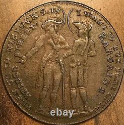 1795 Grande-bretagne Bristol Demi Penny Jeton
